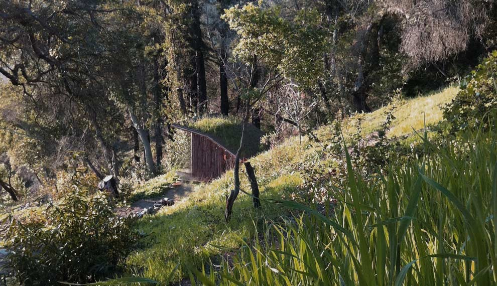 Inspiration for a rustic exterior home remodel in Santa Barbara