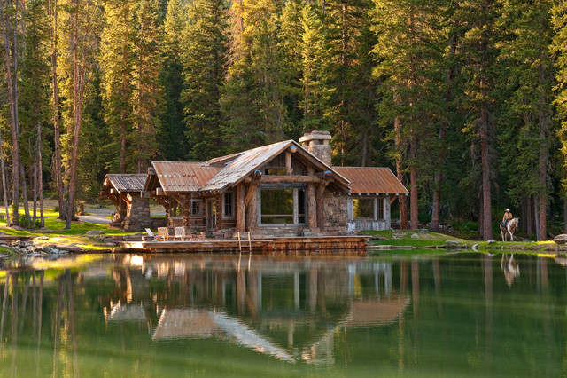 Headwaters Camp Cabin Big Sky Montana Private