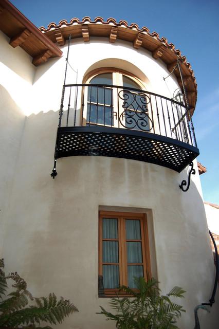 Healy Residence mediterranean-exterior