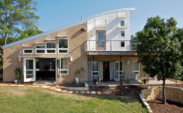Heathers Home Contemporary Exterior Dallas By