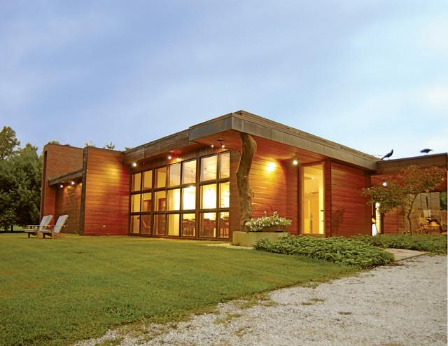 Heavilin Road House modern-exterior
