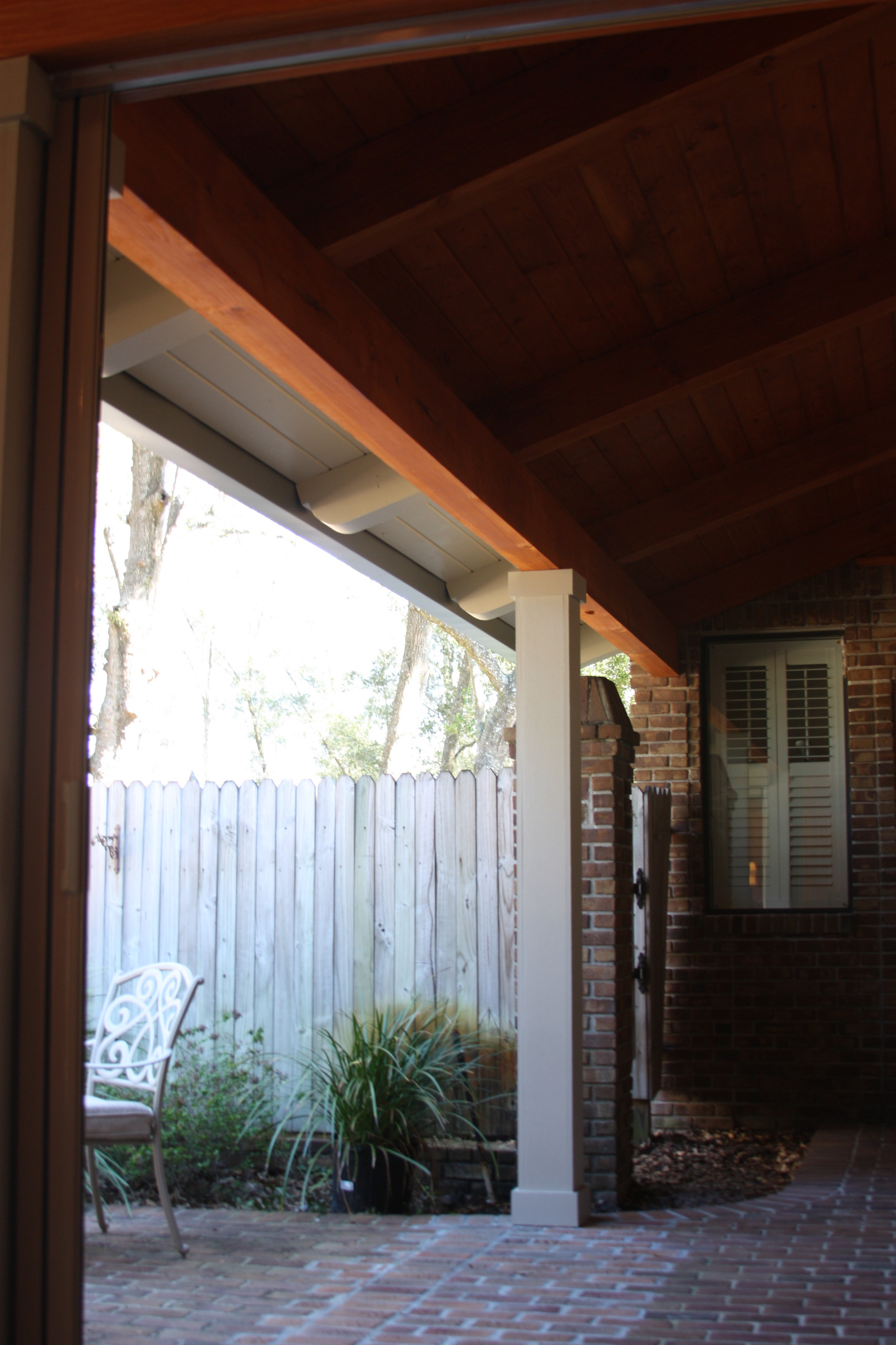 Heavy Timber Pavilion Addition