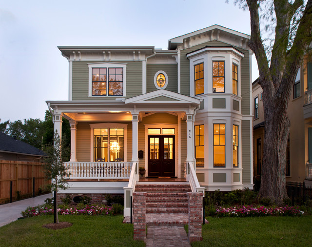 Heights Victorian 2 traditional-exterior