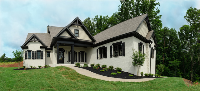 Hennefield plan frank betz traditional exterior for Frank betz homes for sale