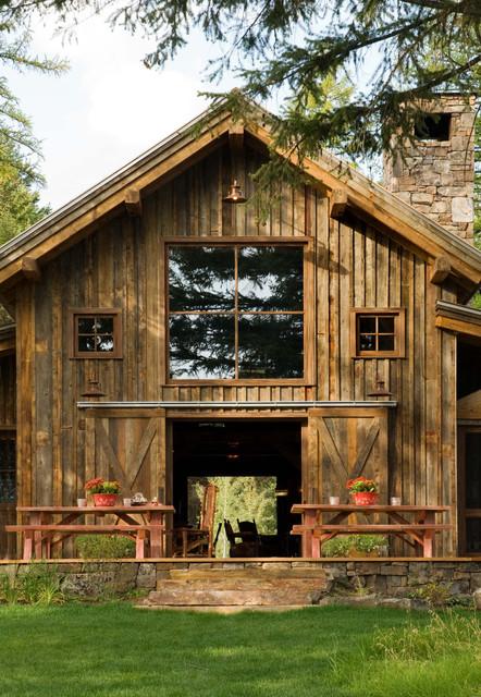Heritage Cabin rustic-exterior