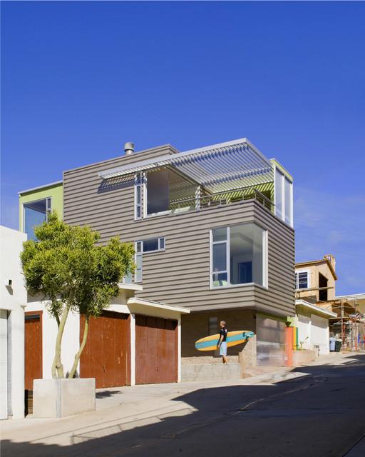 Hermosa Beach House Beach Style Exterior Los Angeles