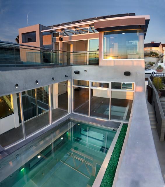 Hermosa House contemporary-exterior