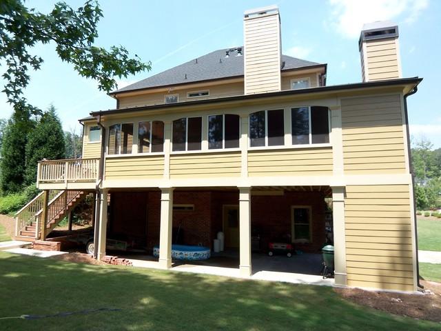 Hickory springs traditional exterior atlanta by for Concrete craft colorado springs