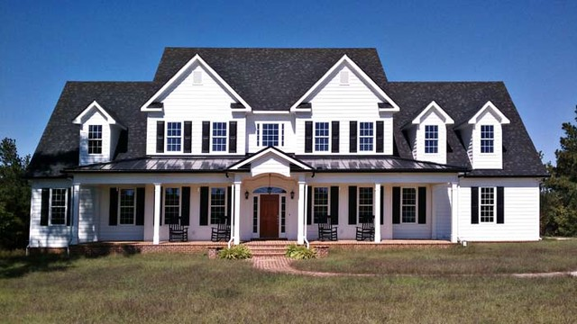 High Country Farmhouse traditional-exterior