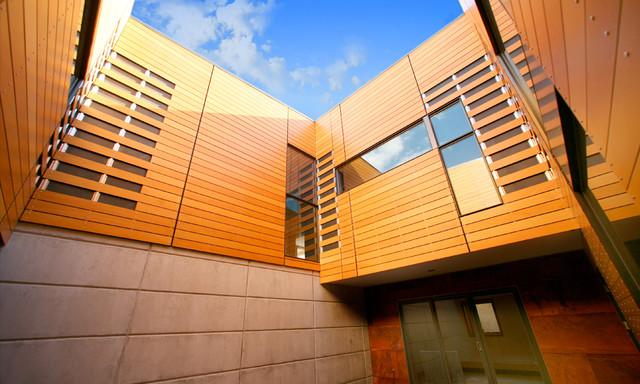 High Desert Pavilion contemporary-exterior