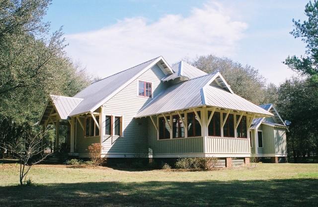 High springs fl cracker style house for Florida cracker house plans