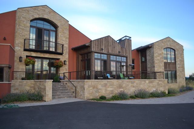 Highland Hacienda, Bend, OR contemporary-exterior
