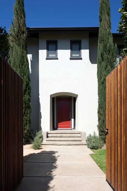 Highland House Remodel mediterranean-entry