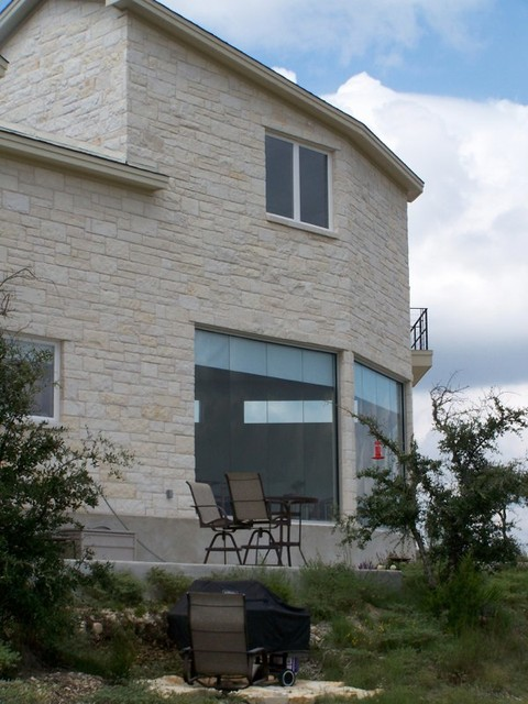 Example of a trendy exterior home design in Austin