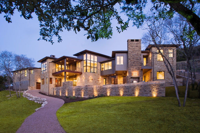 Hill Country Contemporary contemporary exterior