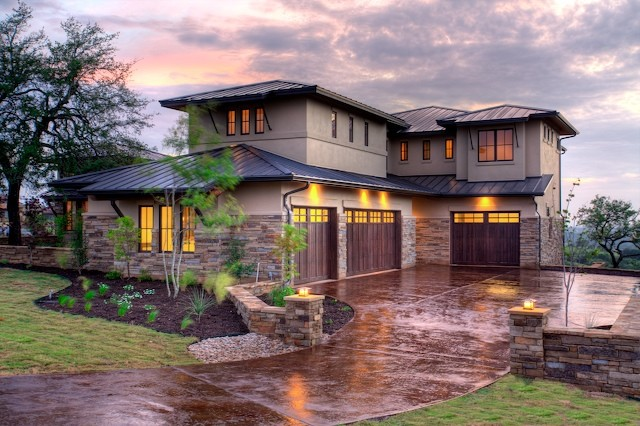 Hill Country Craftsman Exterior