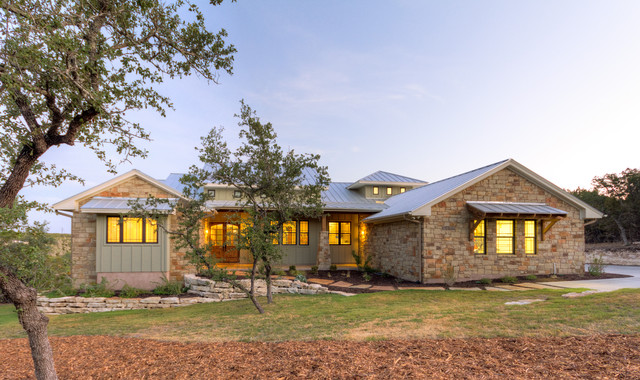 Hill Country Craftsman - Craftsman - Exterior - austin - by Hobbs' Ink