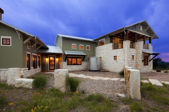 Hill country eclectic for Hill country architecture