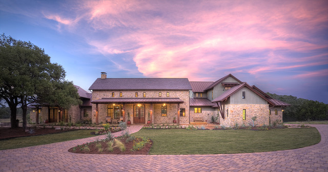Hill country farmhouse for Hill country stone