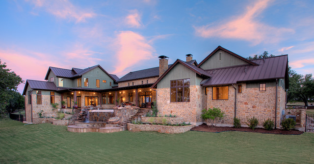 Hill country farmhouse for Texas farm houses