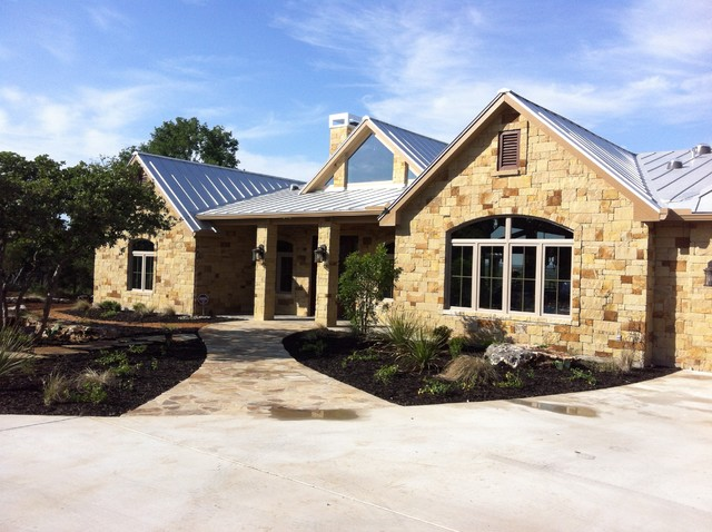 Hill Country Traditional Exterior Austin By Gj