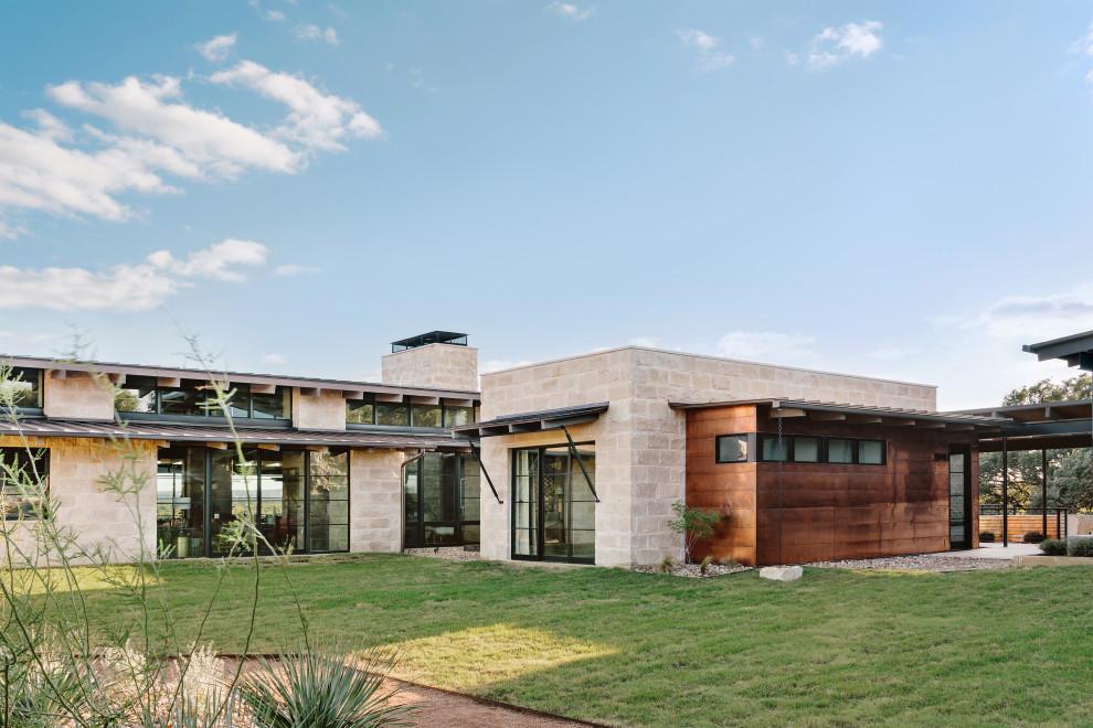 Marble Falls Ranch Contemporary Design Rustic