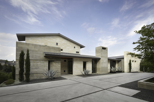 Hill Country Residence Contemporary Exterior Austin