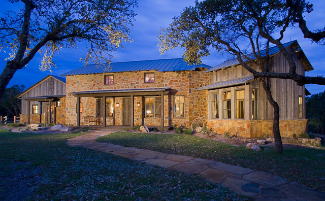 Hill country retreat for Texas hill country homes