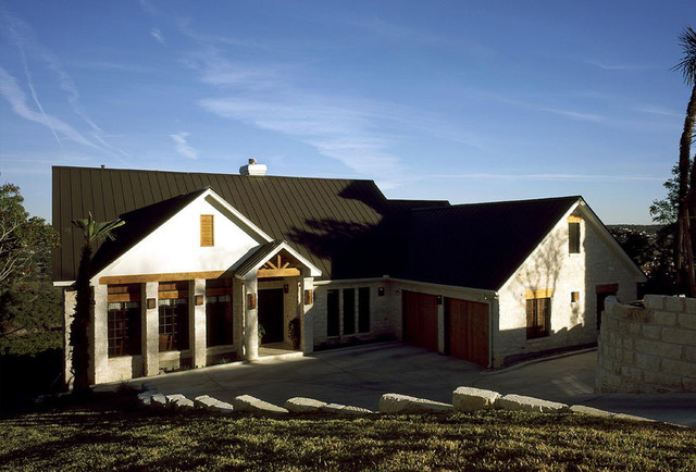 Hill Country Retreat Traditional Exterior Other