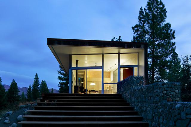 HIll House contemporary-exterior