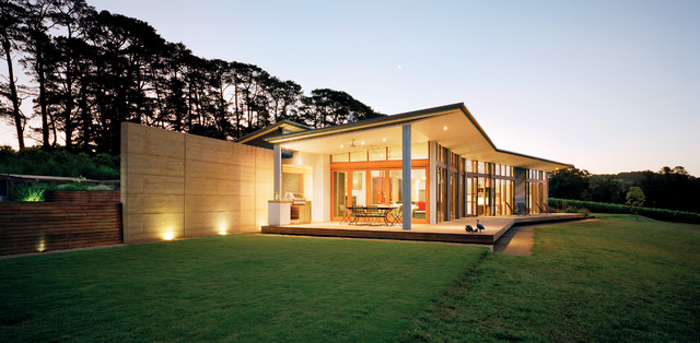 Hill House Modern Exterior Melbourne By Mihaly Slocombe