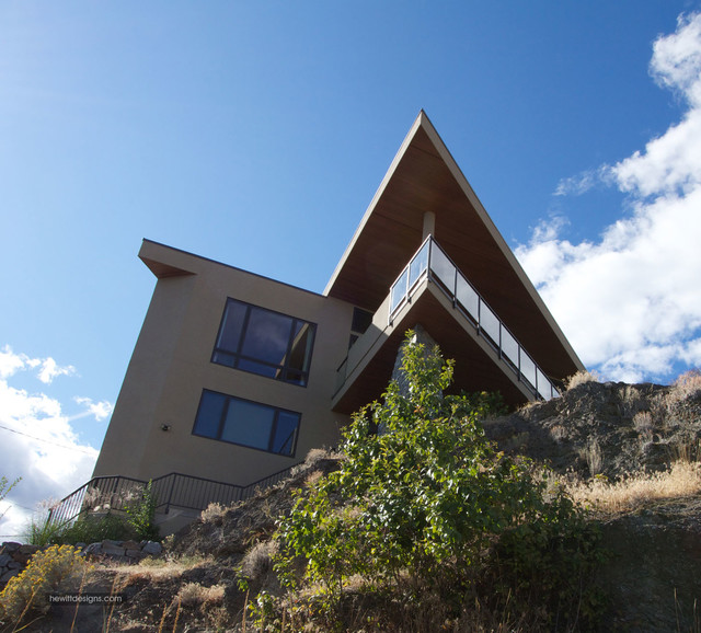 Hill Point contemporary-exterior