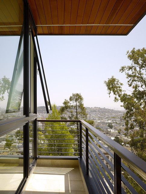 Hill Street Residence modern-exterior