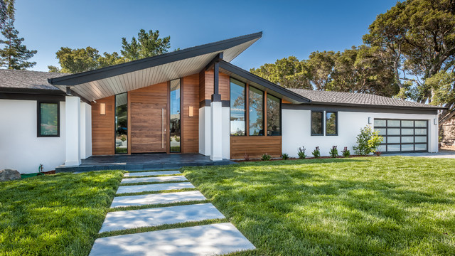 Labor Day Furniture Sale >> Hillsborough 2 - Midcentury - Exterior - San Francisco - by A.V. Builders Inc.