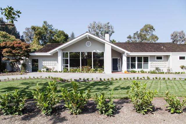 Hillsborough Family Residence transitional-exterior
