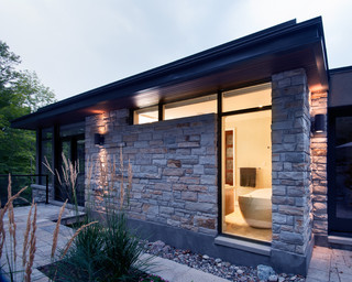Hillside home contemporary exterior ottawa by for Exterior by design ottawa
