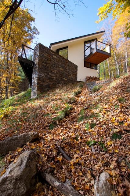 Hillside House Exterior modern-exterior