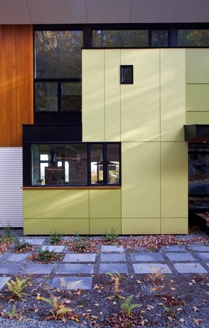 Hillside House Exterior contemporary-exterior
