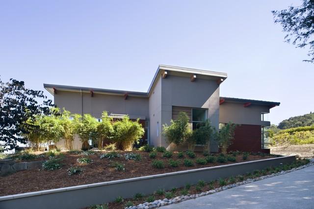 Hillside Residence modern-exterior