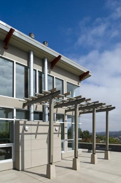 Hillside Residence contemporary-exterior