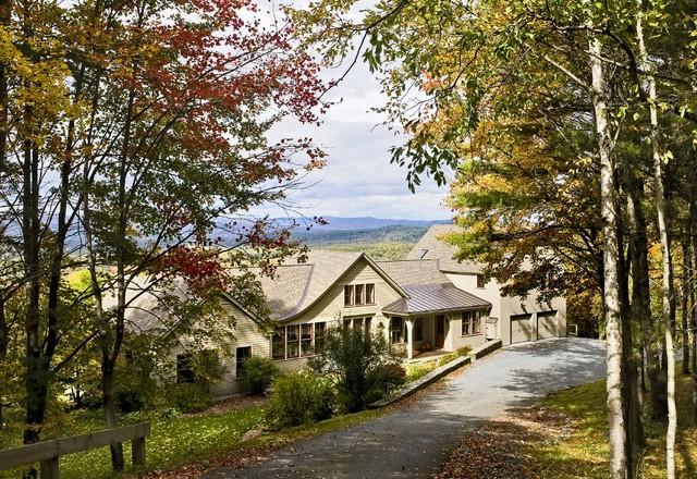Hillside Residence Hanover NH traditional-exterior