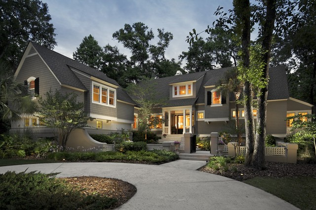 Hilton Head Island Residence traditional exterior