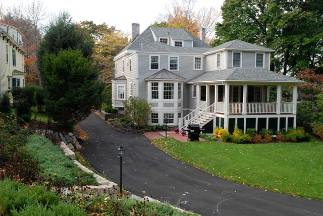 Hingham Addition traditional-exterior