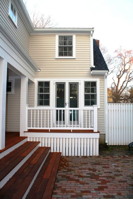 Historic Cape Addition traditional-exterior
