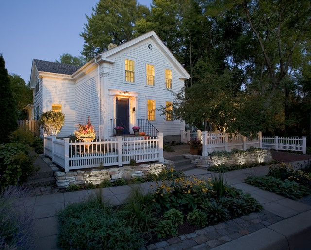 Historic Cottage Renovation Exterior Traditional