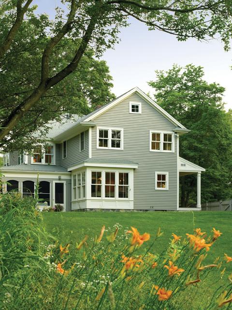 Historic Farm House contemporary-exterior