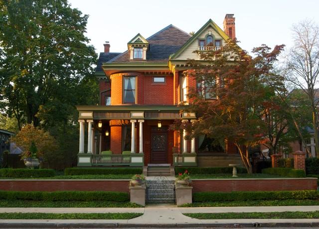 Historic German Village Residence - Jacobs Grant Design ltd traditional-exterior