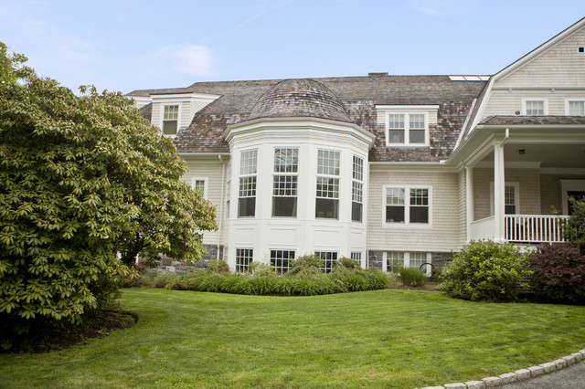 Historic Home Color Project, Rye, New York traditional-exterior