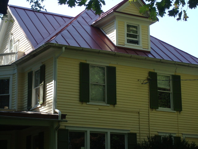 Historic Home Laurel Md Metal Roof Traditional