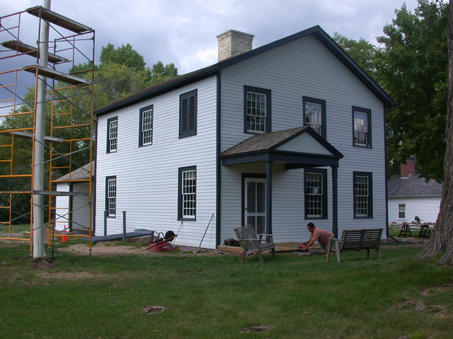 Historic Indian Agency House Restoration Traditional
